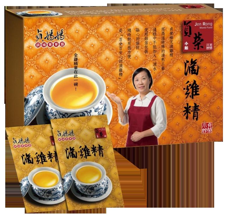 花旗蔘滴雞精(10入/盒)