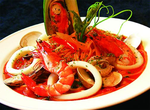 義式茄汁海鮮
